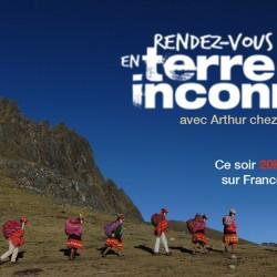 Frederic Lopez, invite Arthur chez les Quechuas au Pérou pour Rendez Vous en Terre Inconnue